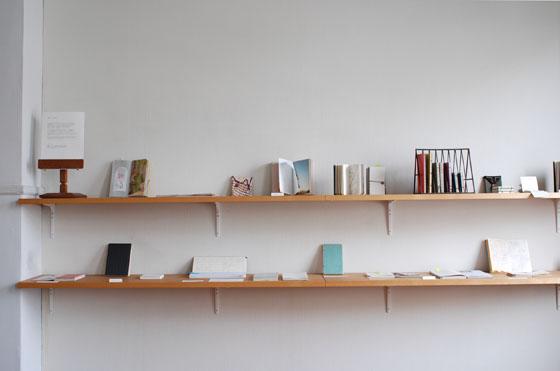 「手帖と製本の仕事」 colonbooks 2013.3.20-25