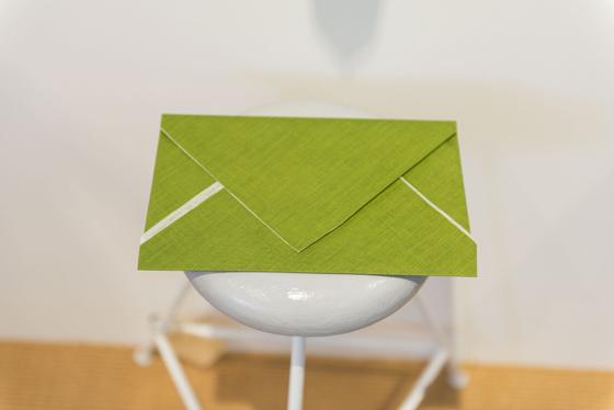 「紙を写す x 布を綴る」at 夏至 2015.4.16-27